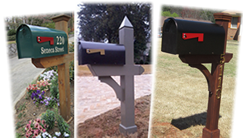 Quailty Built Mailboxes